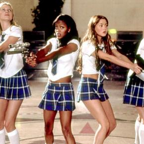 All Hail Queen Angela Robinson and Hot Girls In ShortSkirts-2003